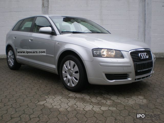 2007 audi a3 2 0 tdi sportback attraction dpf car photo and specs. Black Bedroom Furniture Sets. Home Design Ideas