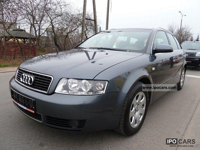 2003 Audi  * A4 * AUTOMATIC * BEZWYPADKOWA Pakiet CHROME * 131 * KONI Estate Car Used vehicle photo