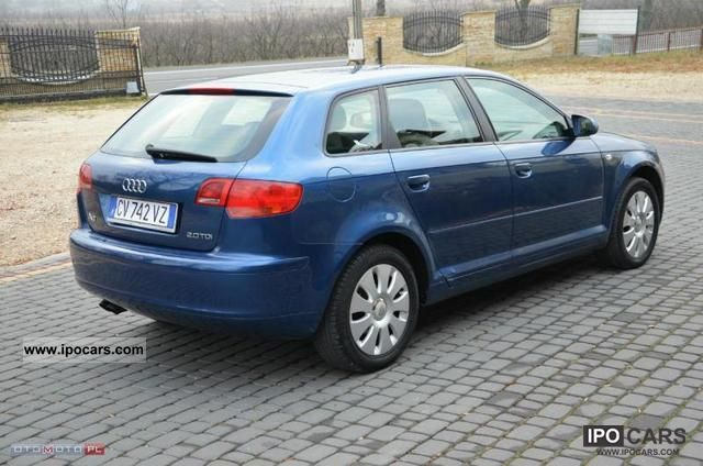 2005 audi a3 sportback serwis okazja car photo and specs. Black Bedroom Furniture Sets. Home Design Ideas