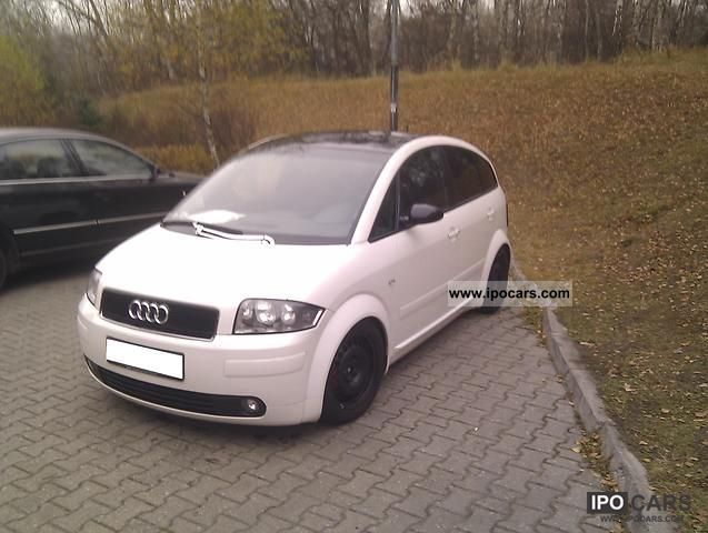 2002 Audi  A2 S-line open-Sky1.4 TDI 17 Alu Leather vision Small Car Used vehicle photo