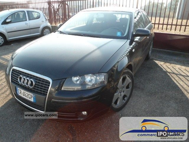 2004 Audi  A3 2.0 16V TDI Attraction Limousine Used vehicle photo