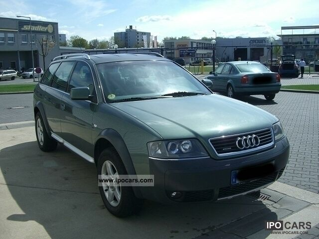 2000 Audi  A6 Allroad 2.5 TDI EURO3 AHK Off-road Vehicle/Pickup Truck Used vehicle photo