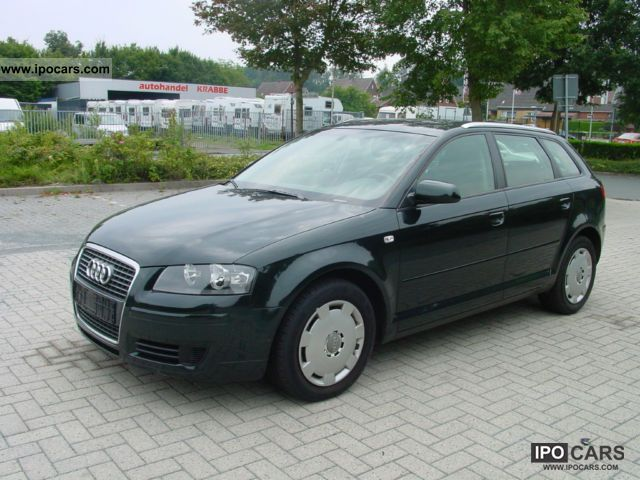2006 audi a3 sportback 1 9 tdi dpf ambition car photo and specs. Black Bedroom Furniture Sets. Home Design Ideas