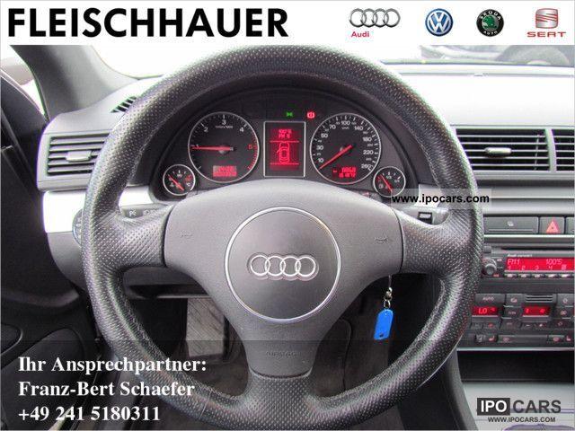2003 audi a4 avant 1.9 tdi s-line klimaautomatik - car photo and specs