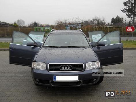 2004 Audi  A6 (C5) AVANT 1.9 TDI 130 KM 2004r BOSE Estate Car Used vehicle photo