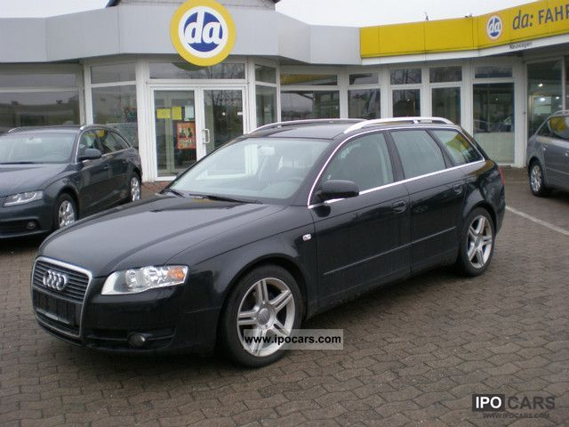 2006 audi a4 avant 2 0 tdi dpf navi car photo and specs. Black Bedroom Furniture Sets. Home Design Ideas