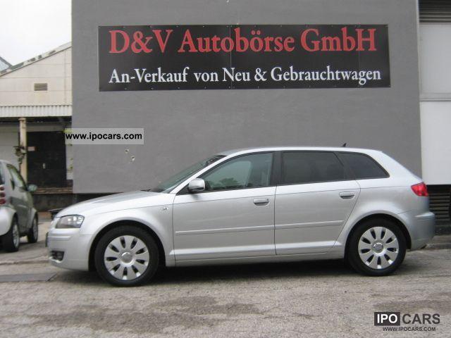 2005 Audi  A3 Sportback 1.9 TDI Ambition'' `` NAVI, TEMPO Estate Car Used vehicle photo