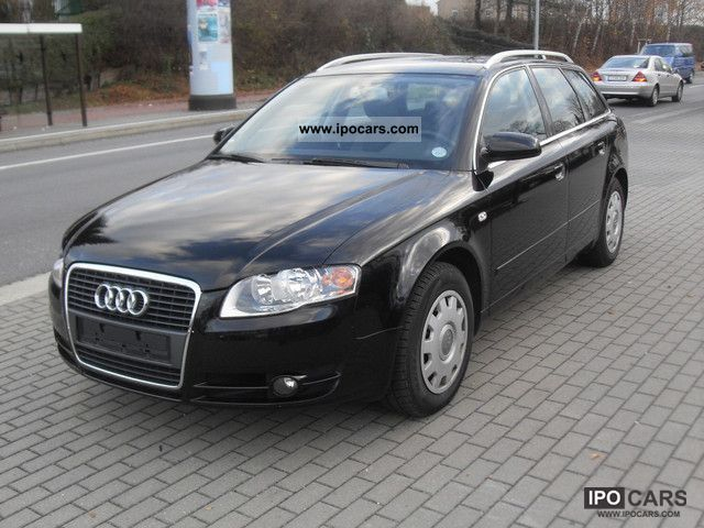 2006 audi a4 avant 1 9 tdi car photo and specs. Black Bedroom Furniture Sets. Home Design Ideas