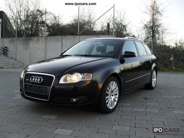 2006 audi a4 avant 2 0 euro 4 1 manual s line sport car. Black Bedroom Furniture Sets. Home Design Ideas