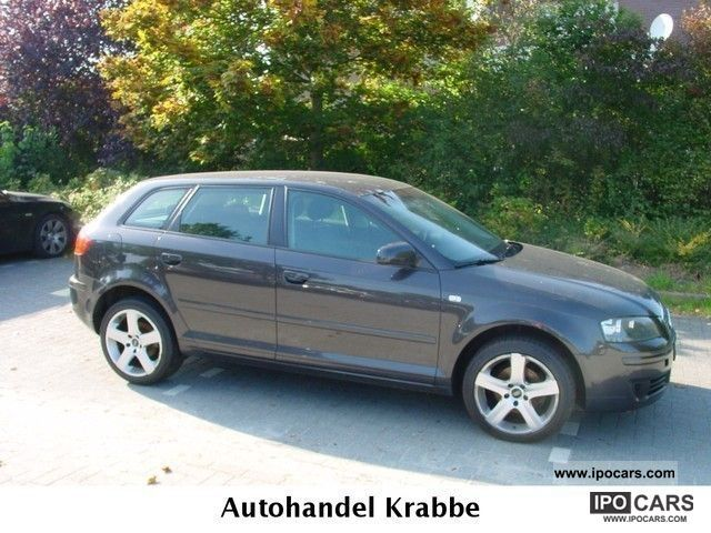 2007 Audi  A3 Sportback 1.9 TDI DPF Navi s linealu Estate Car Used vehicle photo
