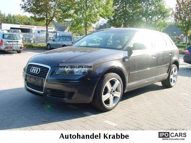 2007 audi a3 sportback 1 9 tdi dpf navi s linealu car photo and specs. Black Bedroom Furniture Sets. Home Design Ideas
