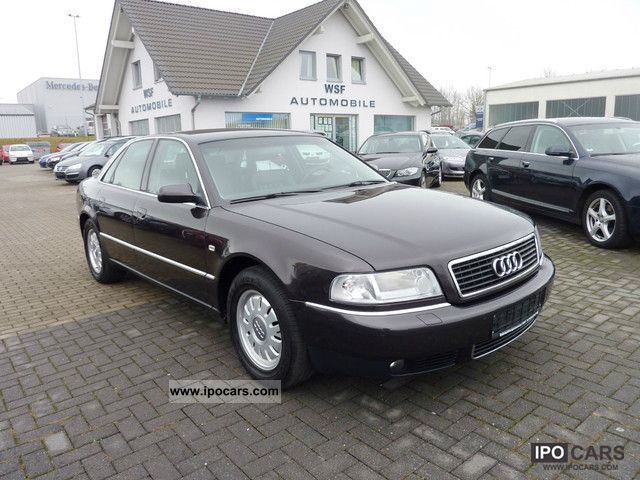 2002 Audi  A8 2.8 Aut Leather Navi Xenon air 1.Hand Limousine Used vehicle photo