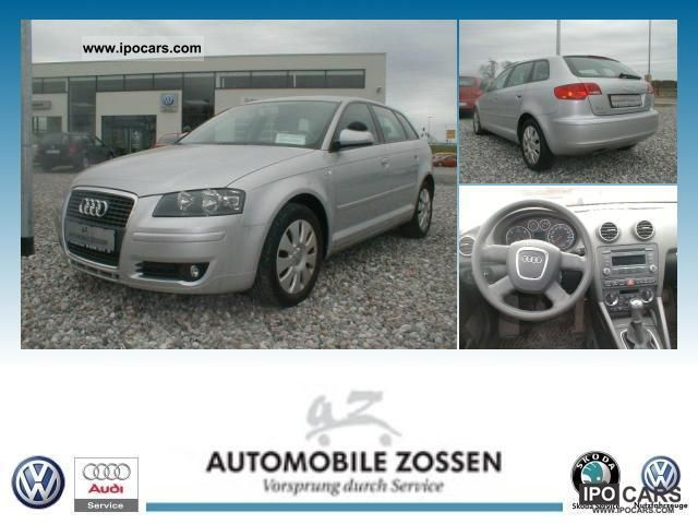 2007 Audi  A3 Sportback 1.9 TDI (DPF) Attraction Limousine Used vehicle photo