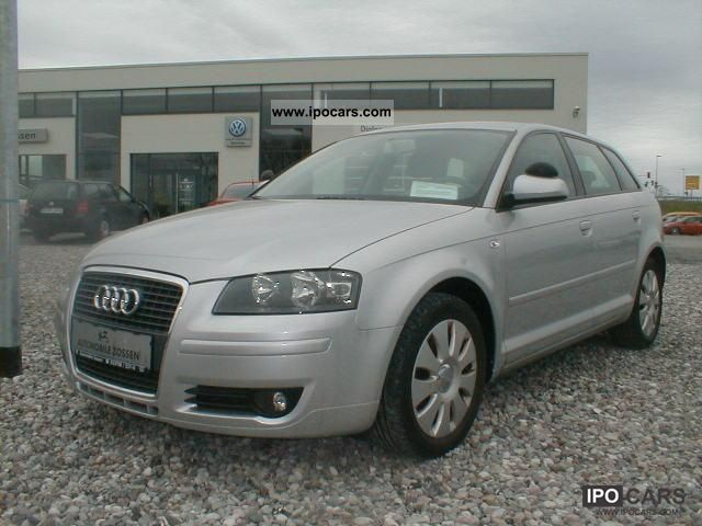 2007 audi a3 sportback 1 9 tdi dpf attraction car photo and specs. Black Bedroom Furniture Sets. Home Design Ideas