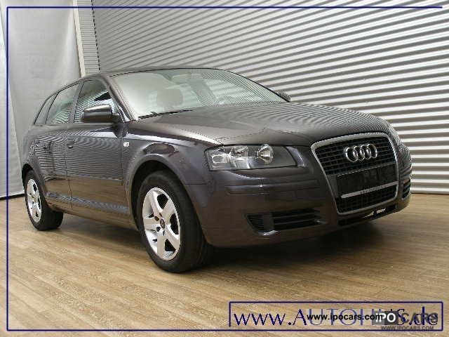 2007 audi a3 sportback 1 9 tdi attraction navi klimaaut car photo and specs. Black Bedroom Furniture Sets. Home Design Ideas