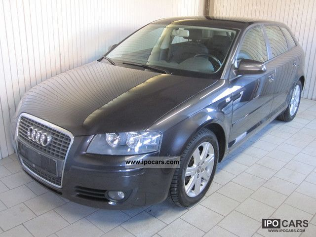 2006 audi a3 2 0 tdi sportback ambition dpf car photo and specs. Black Bedroom Furniture Sets. Home Design Ideas