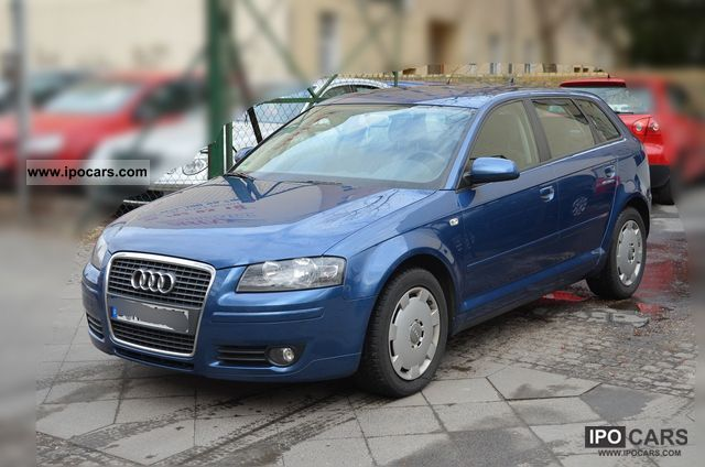 2005 audi a3 2 0 tdi sportback 2006 model navi 1 hand car photo and specs. Black Bedroom Furniture Sets. Home Design Ideas