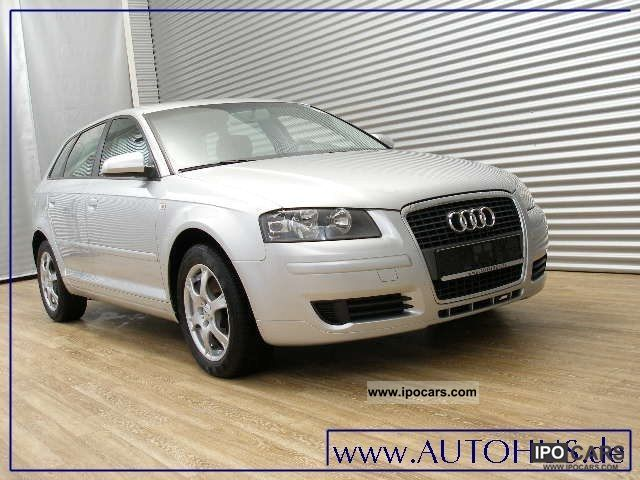 2007 audi a3 sportback 2 0 tdi attraction navi klimaaut car photo and specs. Black Bedroom Furniture Sets. Home Design Ideas
