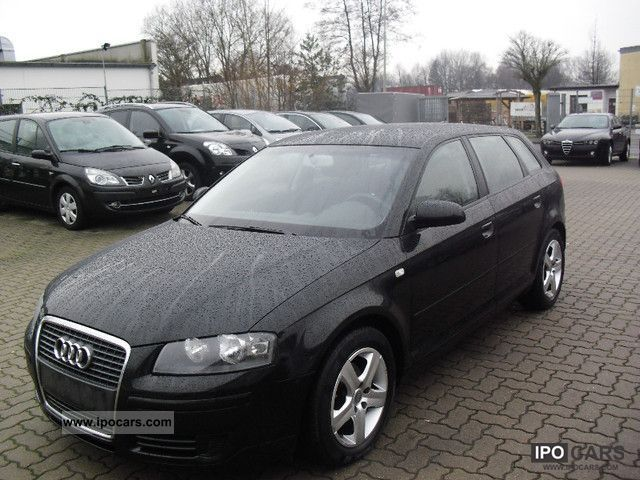 2008 Audi  A3 Sportback 1.9 TDI DPF, GPS, aluminum 16-inch Estate Car Used vehicle photo