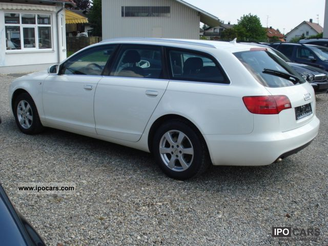 2006 audi a6 avant 2 7 tdi quattro tiptronic el ahk navigation car photo and specs. Black Bedroom Furniture Sets. Home Design Ideas