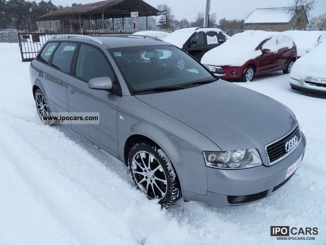 2004 audi a4 1 9 tdi 130 hp car photo and specs. Black Bedroom Furniture Sets. Home Design Ideas
