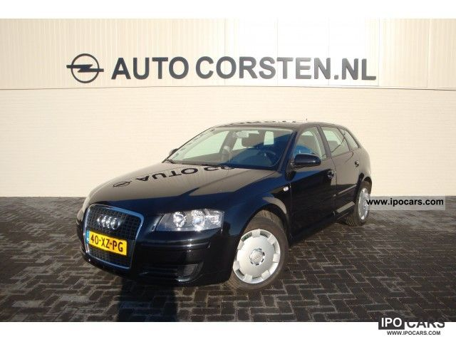 2007 Audi  A3 Sportback 1.9 T the Ecc Drf Attraction Limousine Used vehicle photo