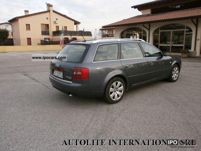 2004 audi a6 avant 2 5 v6 quattro cat tdi 180 cv car photo and specs. Black Bedroom Furniture Sets. Home Design Ideas