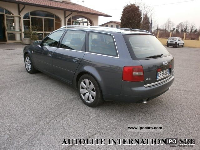 2004 audi a6 avant 2 5 v6 quattro cat tdi 180 cv car photo and specs. Black Bedroom Furniture Sets. Home Design Ideas