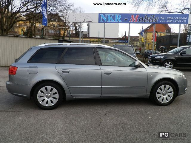 2008 audi a4 avant 2 0 tdi dpf navi plus 2 hand care car photo and specs. Black Bedroom Furniture Sets. Home Design Ideas
