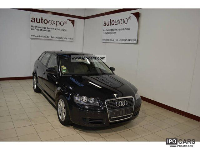 2007 Audi  A3 Sportback 1.9 TDI DPF environment, climate, SHZ Estate Car Used vehicle photo