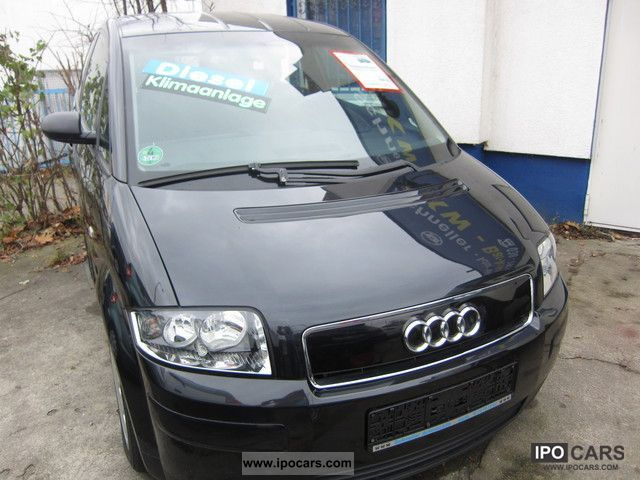2002 Audi  A2 1.4TDI GREEN BADGE Van / Minibus Used vehicle photo