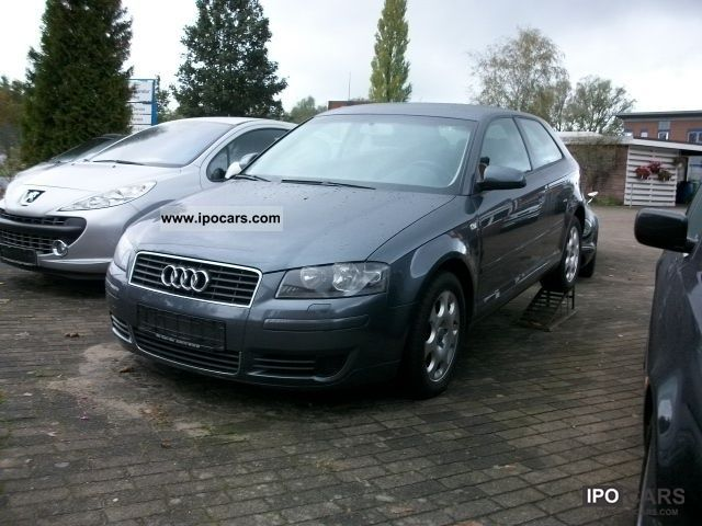 2003 Audi  A3 * heater, air car., Heated seats * Limousine Used vehicle photo