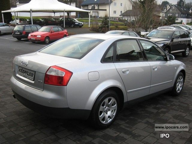 2001 audi a4 saloon 2 0 car photo and specs. Black Bedroom Furniture Sets. Home Design Ideas