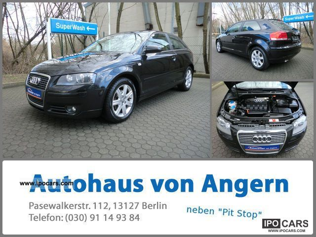 2006 Audi  A3 1.9 TDI Ambition 1.Hd KLIMATR / Xenon / PDC / BC Sports car/Coupe Used vehicle photo