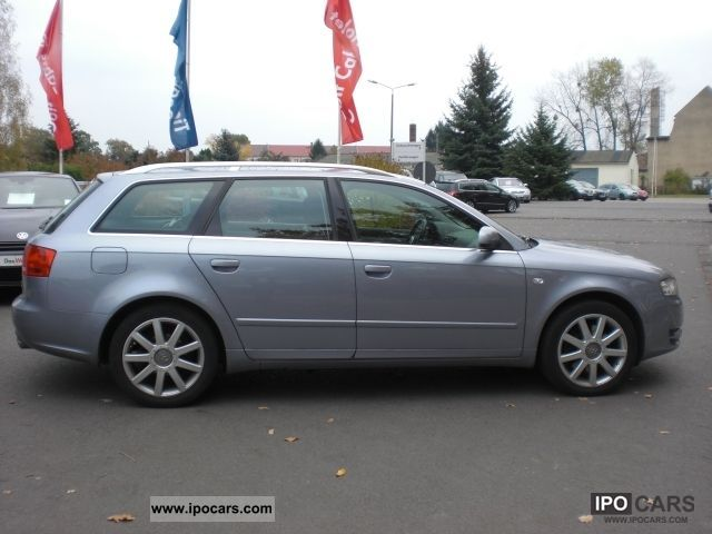 2005 audi a4 avant 1 8 t quattro 25 years leather xenon car photo and specs. Black Bedroom Furniture Sets. Home Design Ideas
