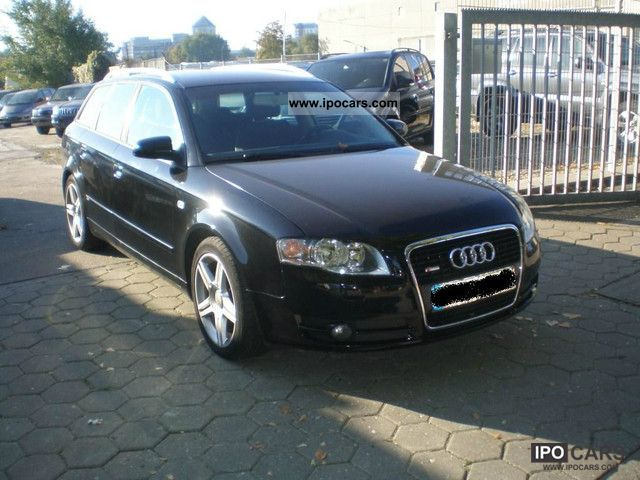 2005 audi a4 avant 2 0 tdi s line aluminum navi plus pdc car photo and specs. Black Bedroom Furniture Sets. Home Design Ideas