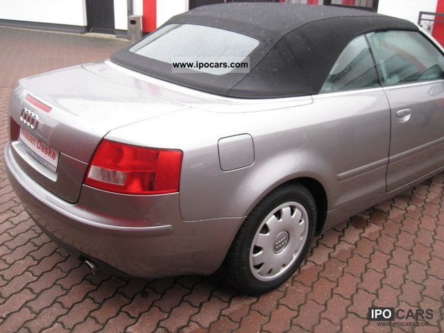 2004 Audi A4 Cabriolet Car Photo And Specs
