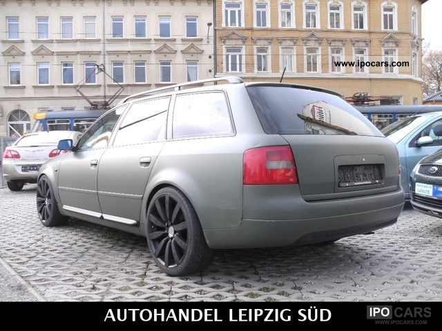 1998 audi a6 2 5 tdi tuning leather checkbook tuv until 2013 car photo and specs. Black Bedroom Furniture Sets. Home Design Ideas