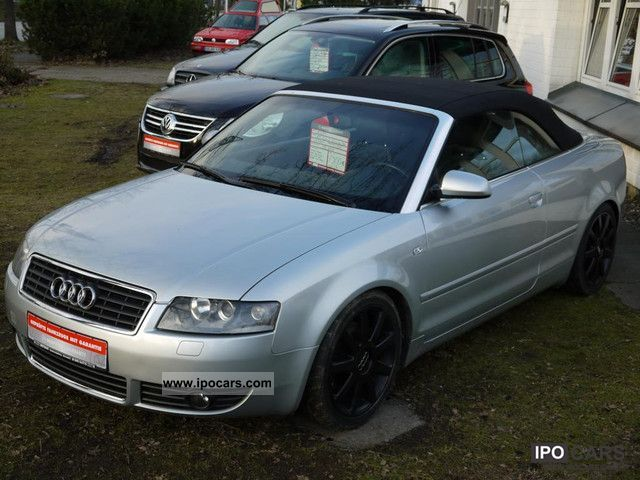 2003 audi a4 cabriolet 2 5 tdi car photo and specs. Black Bedroom Furniture Sets. Home Design Ideas