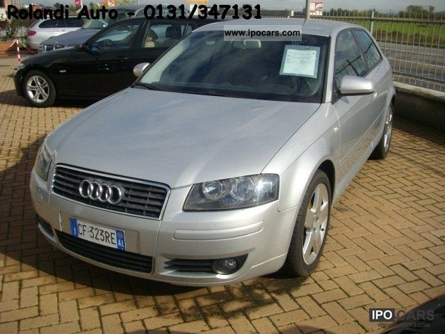 2003 Audi  A3 2.0 16V TDI Attraction Limousine Used vehicle photo