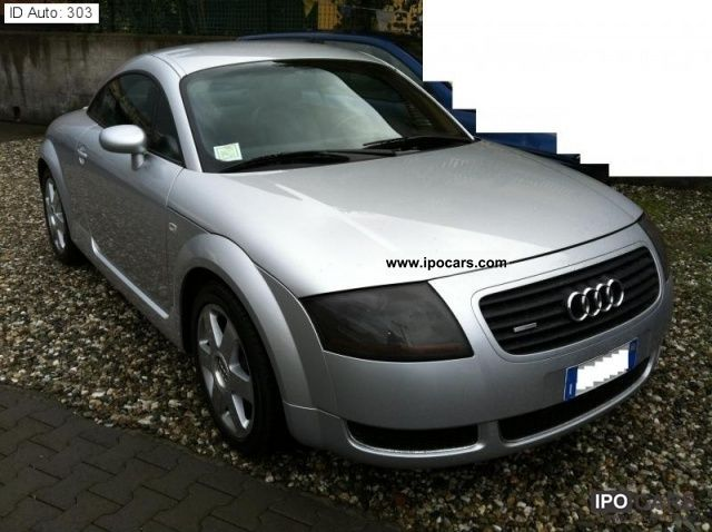 2000 audi tt 1 8 t quattro 225cv car photo and specs. Black Bedroom Furniture Sets. Home Design Ideas