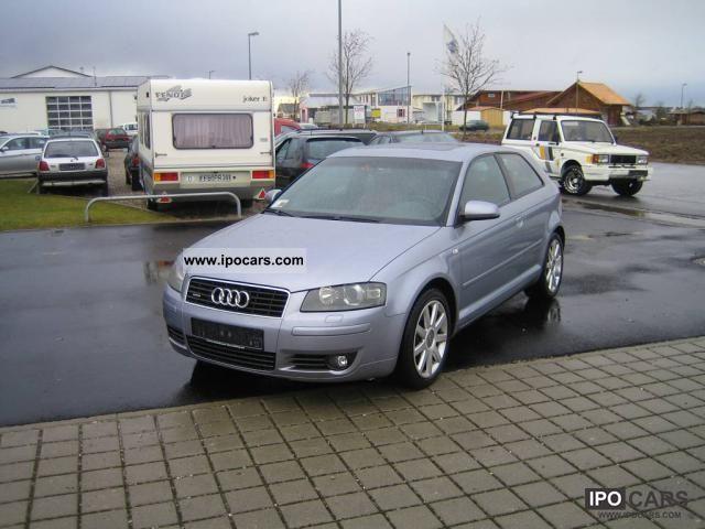 2004 Audi  A3 3.2 Quattro DSG * completely * FULL checkbook Limousine Used vehicle photo