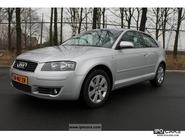 2004 Audi  A3 2.0 Fsi Pro Line Business - zilver metalic, d Small Car Used vehicle photo