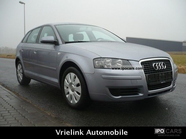 2007 audi a3 sportback 1 9 tdi dpf klimatr aluminum car photo and specs. Black Bedroom Furniture Sets. Home Design Ideas