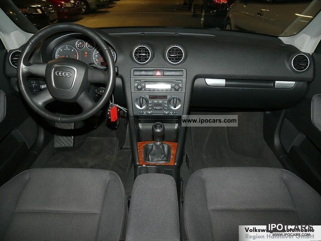 2006 audi a3 sportback 2 0 tdi ambiente car photo and specs. Black Bedroom Furniture Sets. Home Design Ideas