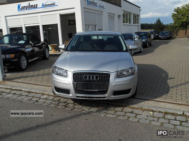 2007 Audi  A3 Sportback 1.9 TDI DPF Ambience / EURO 4 / NAVI Estate Car Used vehicle photo