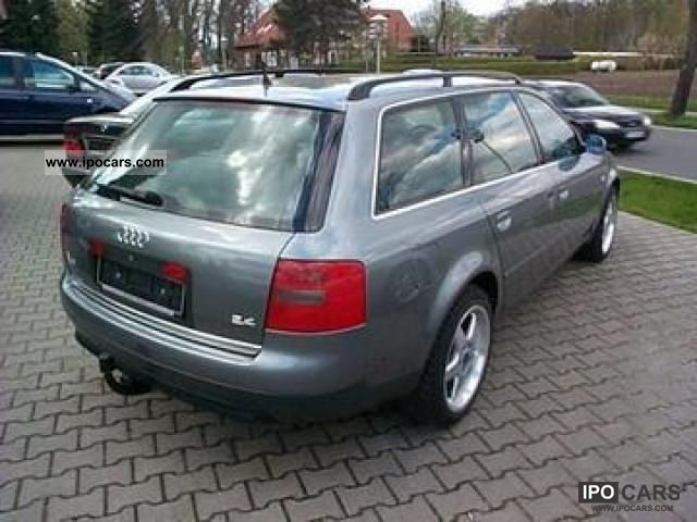 2000 Audi A6 2 4 Avant Car Photo And Specs