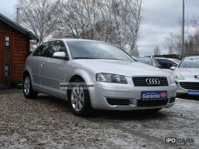 2004 Audi  A3 ** ** PDC ** Leather ** 1.Hand Small Car Used vehicle photo