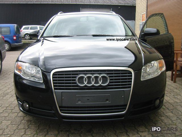 2007 audi a4 2 0 tdi dpf euro4 klimatr car photo and specs. Black Bedroom Furniture Sets. Home Design Ideas