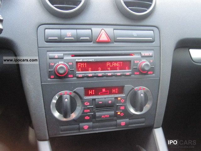 2005 audi a3 2 0 tdi sportback radio cd crom car. Black Bedroom Furniture Sets. Home Design Ideas